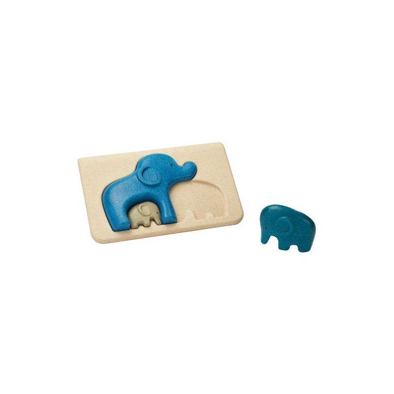 Mon 1er puzzle éléphant par Plan toys