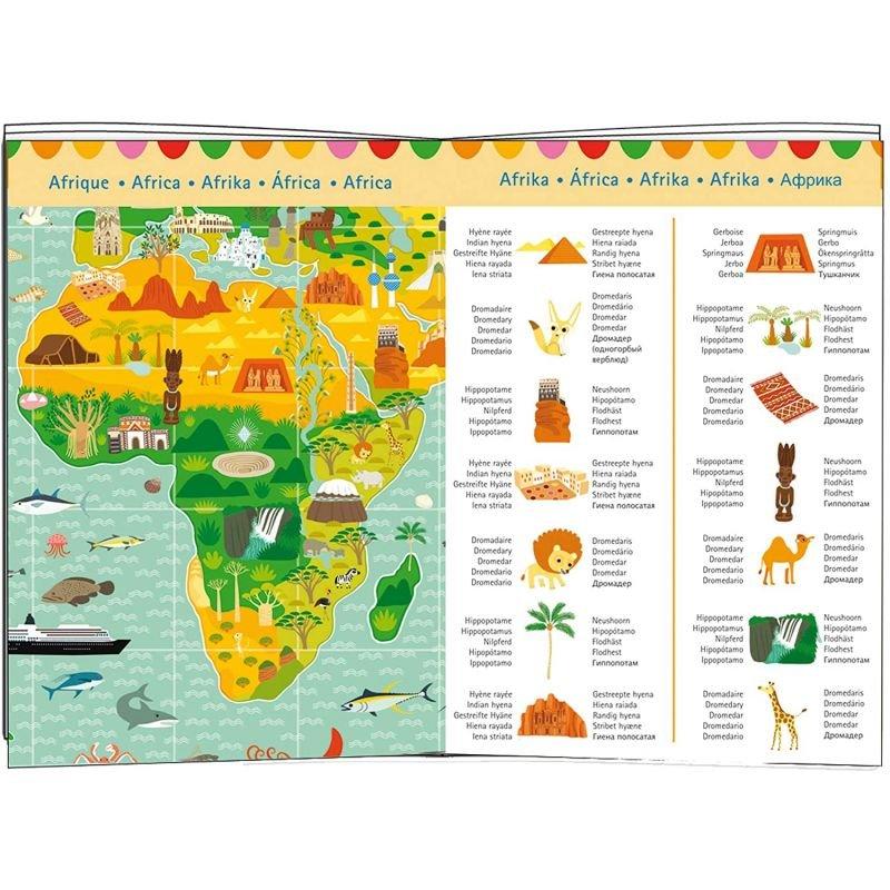 Puzzle d'observation Tour du monde - 200 pièces