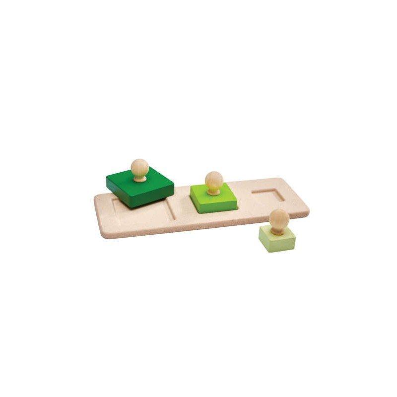 Encastrement carré par Plan toys
