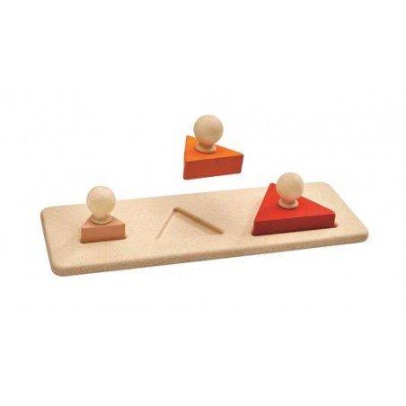 Encastrement triangle par Plan toys