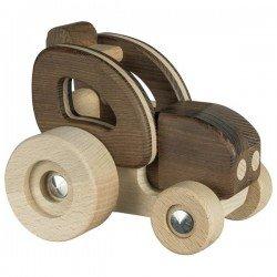 Tracteur bois naturel