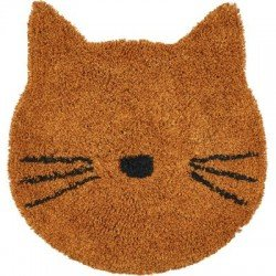 Tapis rond chat moutarde par Liewood