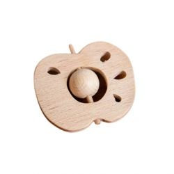 Hochet Pomme en bois