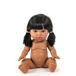 Latika, Poupée fille avec cheveux