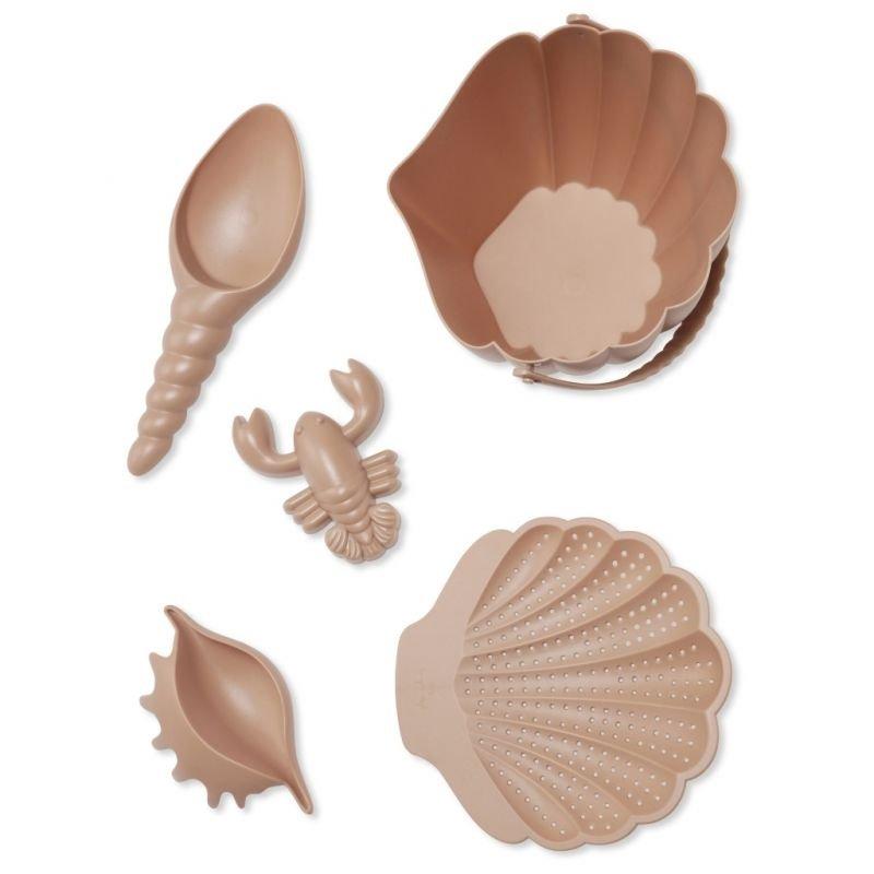 Set de plage | Coquillage rose - Konges Slojd