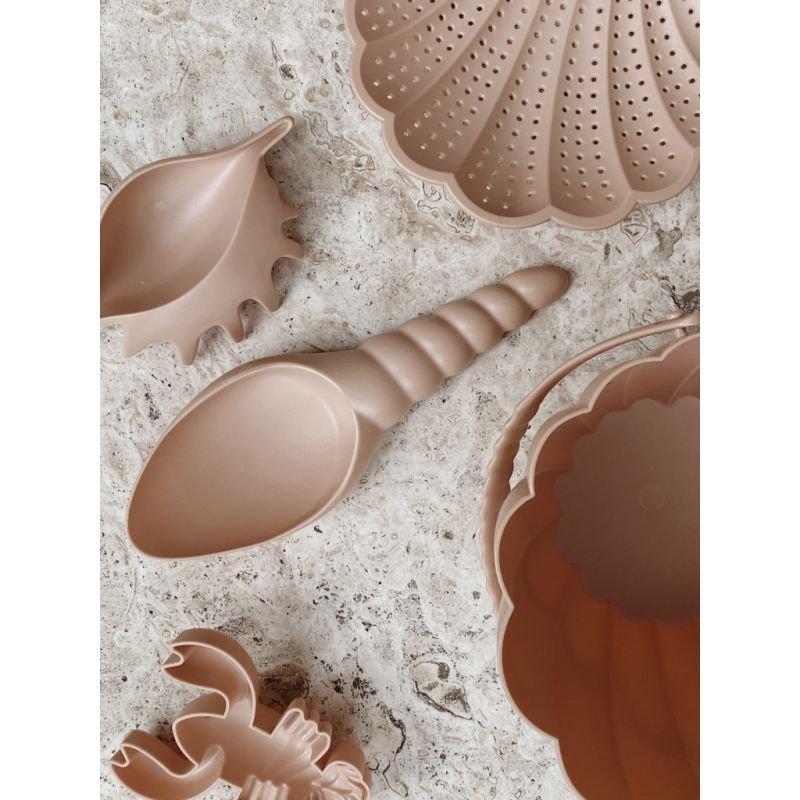 Set de plage | Coquillage rose