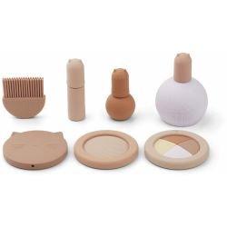 Set de maquillage en silicone Rose par Liewood