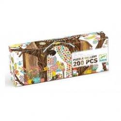 Puzzle Gallery 200 pièces Tree house par Djeco