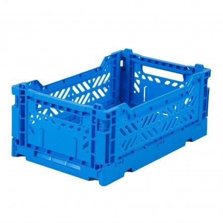 Caisse pliable Bleu électrique - Mini