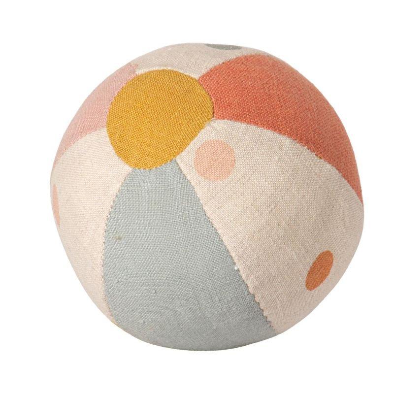 Balle coloriée avec grelot par Maileg