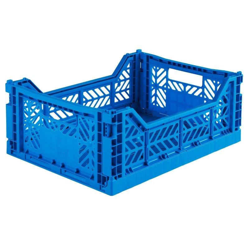 Caisse pliable Bleu électrique - Moyen