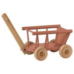 Petit chariot pour souris vieux rose