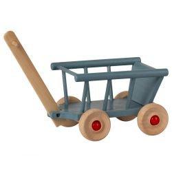 Petit chariot pour souris Bleu par Maileg sans souris