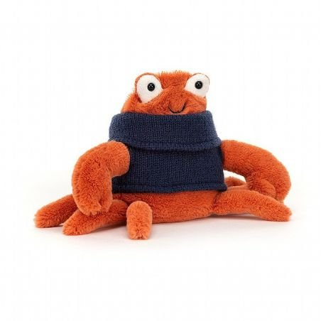 Crabe avec pull par Jellycat
