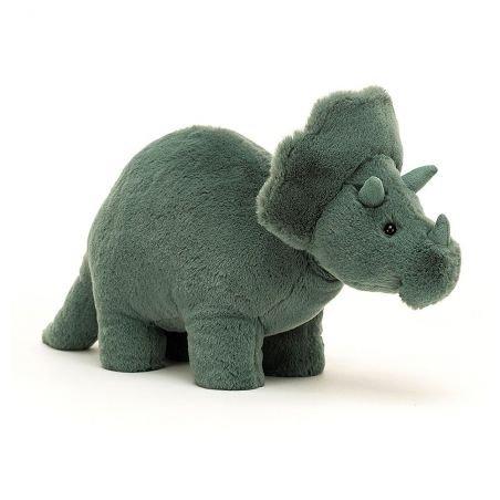 Doudou Fossilly Triceratops par Jellycat