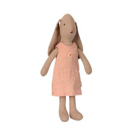 Lapin robe rose Taille 1 par Maileg
