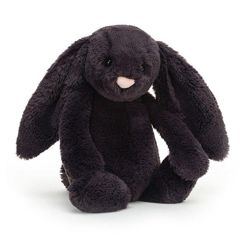 Lapin Bashful 31 cm Noir par Jellycat