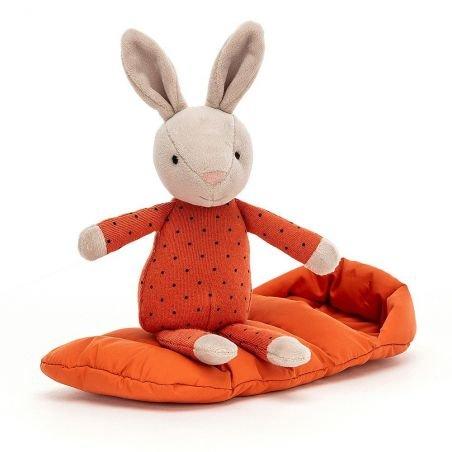 Doudou sac de couchage Lapin par Jellycat