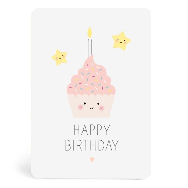 Carte Gâteau d'anniversaire - Zü