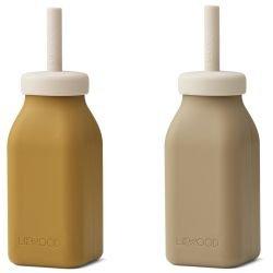 Bouteille gourde Milkshake | Caramel et Avoine