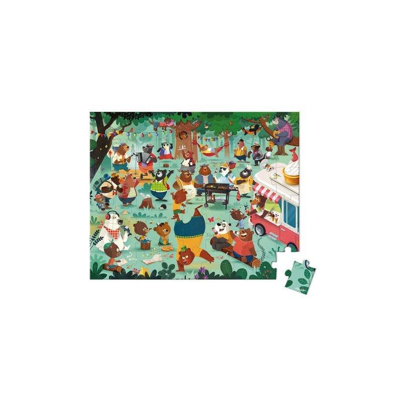 Puzzle La cousinade des ours 54 pièces