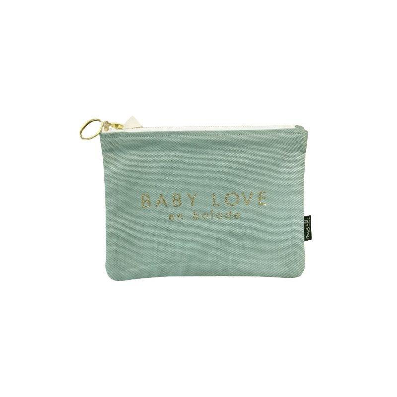 Trousse bleu Caraïbe | Baby love en balade - Marcel & Lily