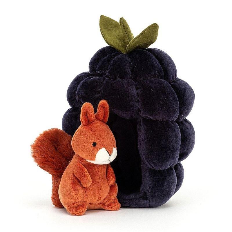 Doudou dans son fruit   Ecureuil - Jellycat