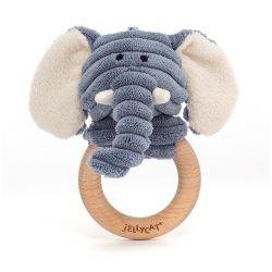 Hochet Anneau Cordy | Elephant