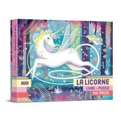 Livre Puzzle 100 pièces La Licorne