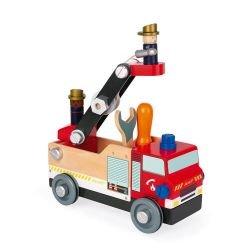 Camion de pompier brico'kids