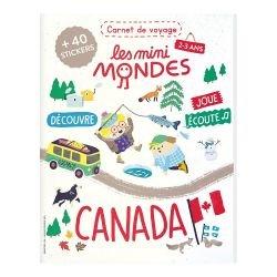 Le carnet de voyage 2-3 ans | Canada