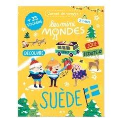 Le carnet de voyage 2-3 ans | Suède