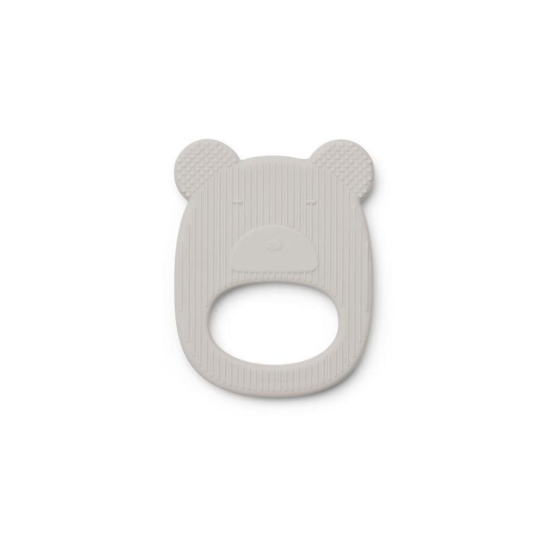 Anneau de dentition ours gris par Liewood