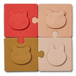Puzzle Bodil en silicone | Rose