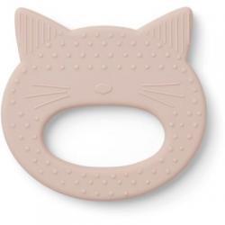 Anneau de dentition chat rose