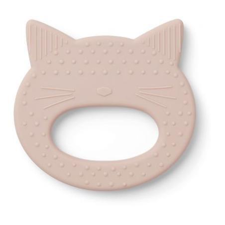 Anneau de dentition chat rose par Liewood