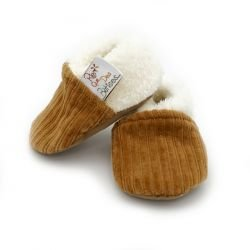 Chaussons velours | Camel