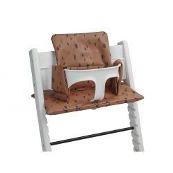 Coussin pour chaise haute bébé | Spot caramel