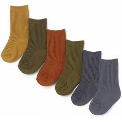 Pack de 6 paires de chaussettes | Butterscotch