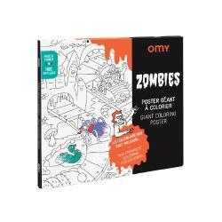 Poster à colorier   Zombies