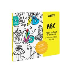 Poster à colorier   ABC