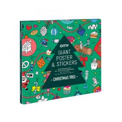 Poster à sticker   Noël