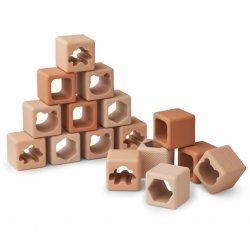 Petits cubes en silicone | Rose