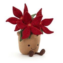 Peluche végétale | Poinsettia