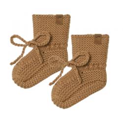 Chausson tricot | Walnut