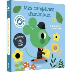 Livre sonore | Mes comptines d'animaux