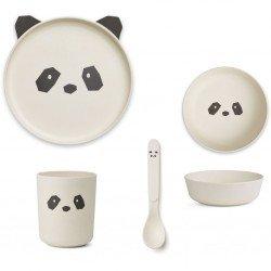 Box repas en bambou | Panda
