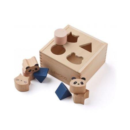 Boite cube puzzle