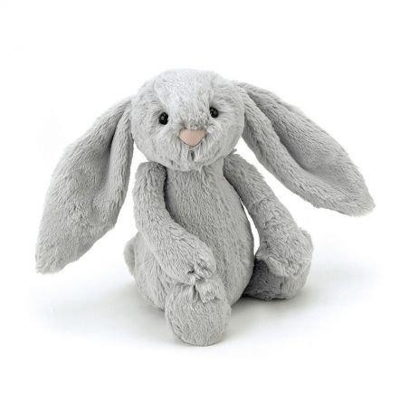 Petit Lapin Gris Bashful 18 cm par Jellycat