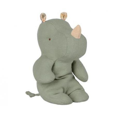 Doudou rhinocéros Vert par Maileg